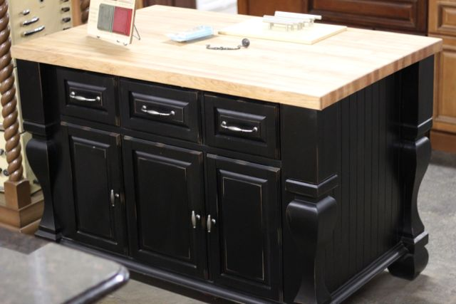 Black kitchen island why your kitchen needs an island Kitchen