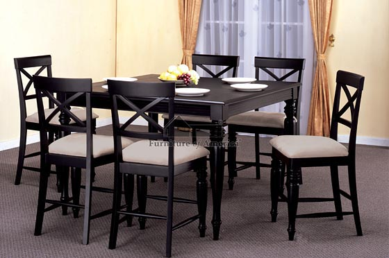 black kitchen table and chairs photo 3 kitchen ideas