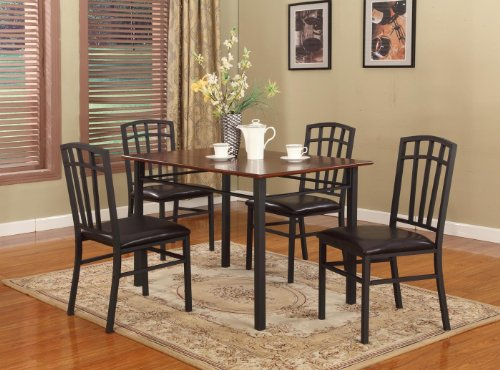 Black kitchen table and chairs Photo - 8