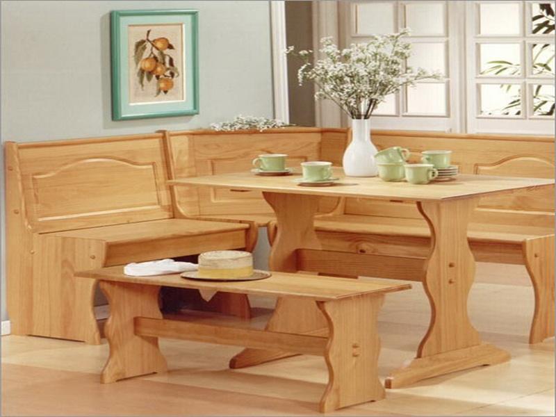 Corner kitchen table Photo - 9