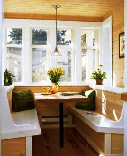 Corner kitchen table Photo - 3