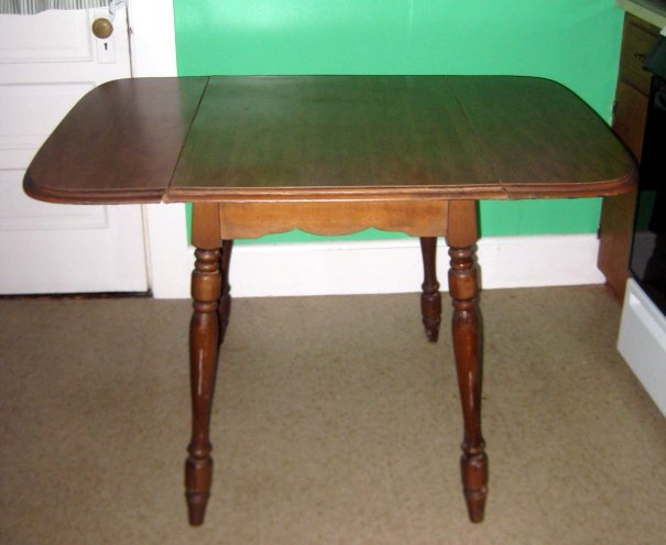 Drop leaf kitchen table Photo - 7