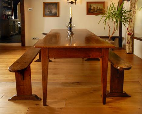 Farmhouse kitchen table Photo - 9