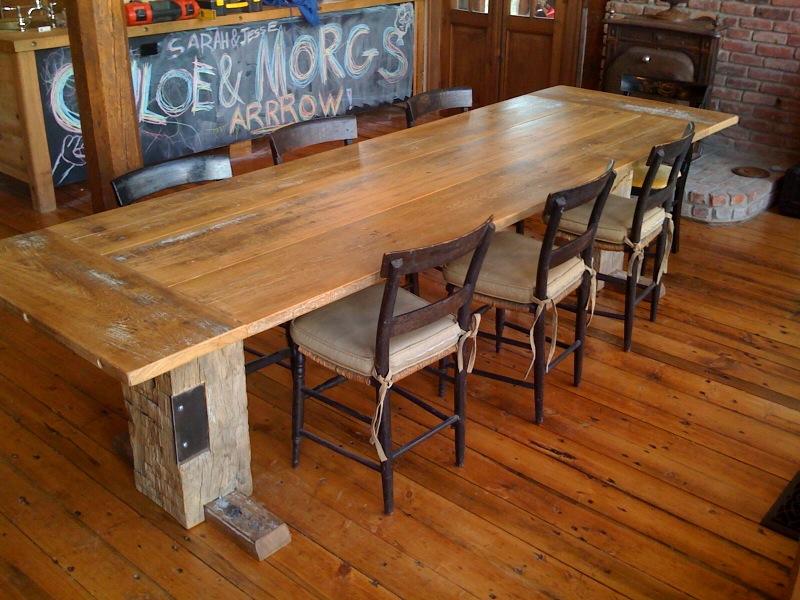Farmhouse kitchen table Photo - 3
