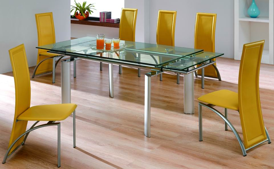 Glass kitchen tables Photo - 8