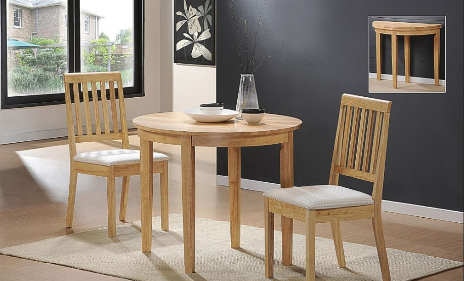 Perfect little tables for small kitchen spaces kitchen for Small kitchen table for 4