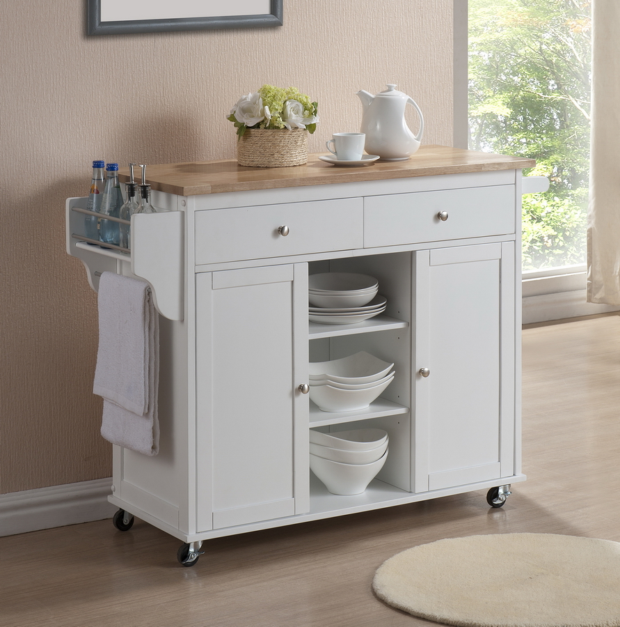Mobile Kitchen Islands – The Best Kitchen Work Tables for You ...