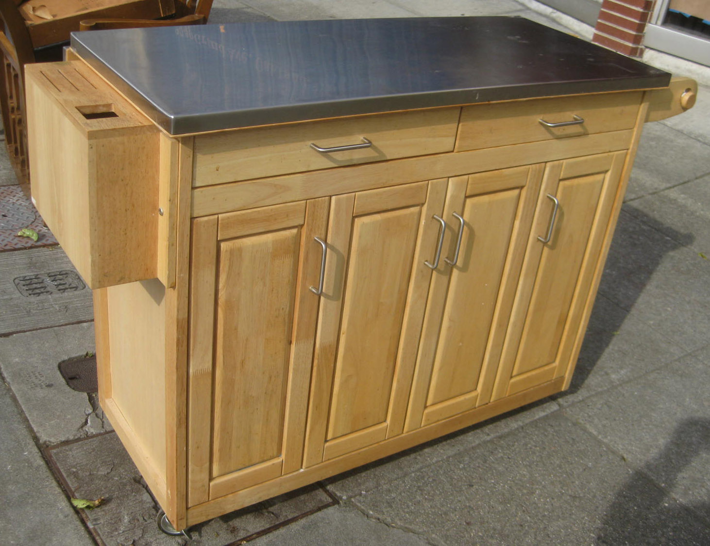 mobile kitchen islands the best kitchen work tables for