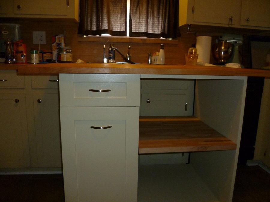 Mobile kitchen island Photo - 8