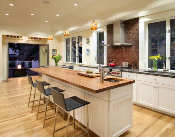 Modern kitchen island Photo - 9