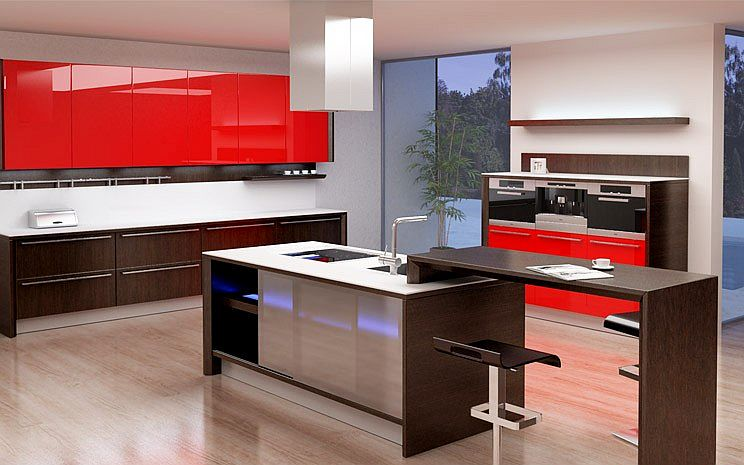 Modern kitchen island Photo - 3