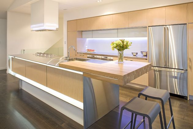 Modern kitchen island Photo - 4