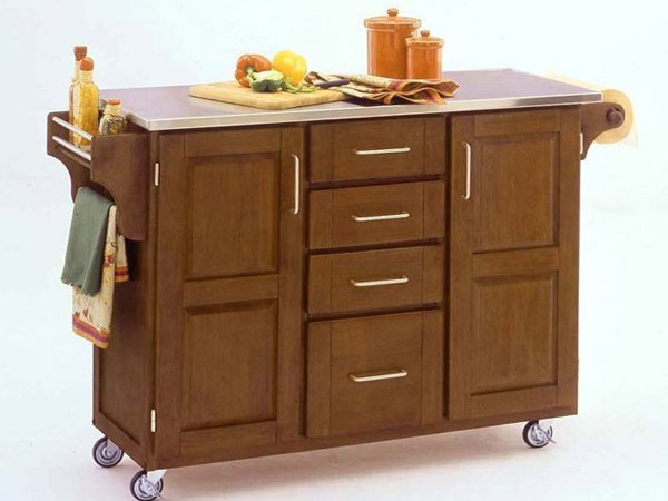 Portable kitchen island Photo - 7