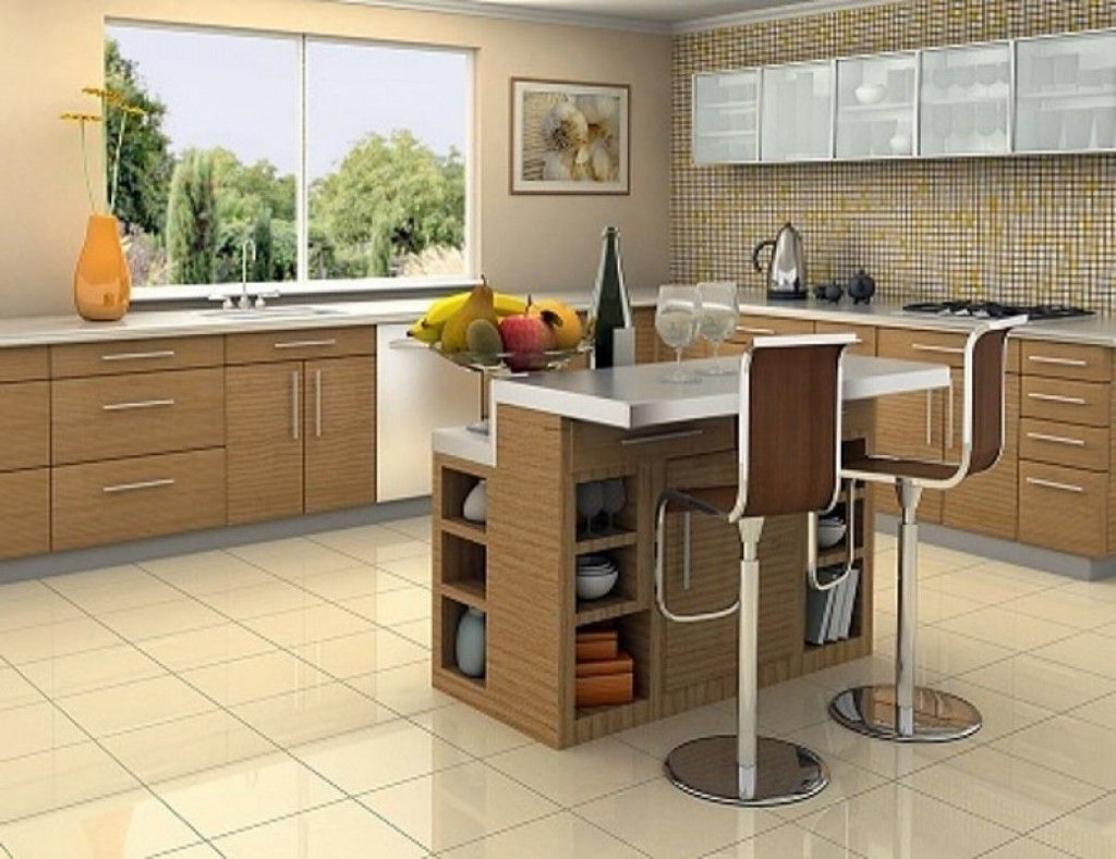 Portable kitchen island with seating kitchen ideas for Kitchen ideas no island