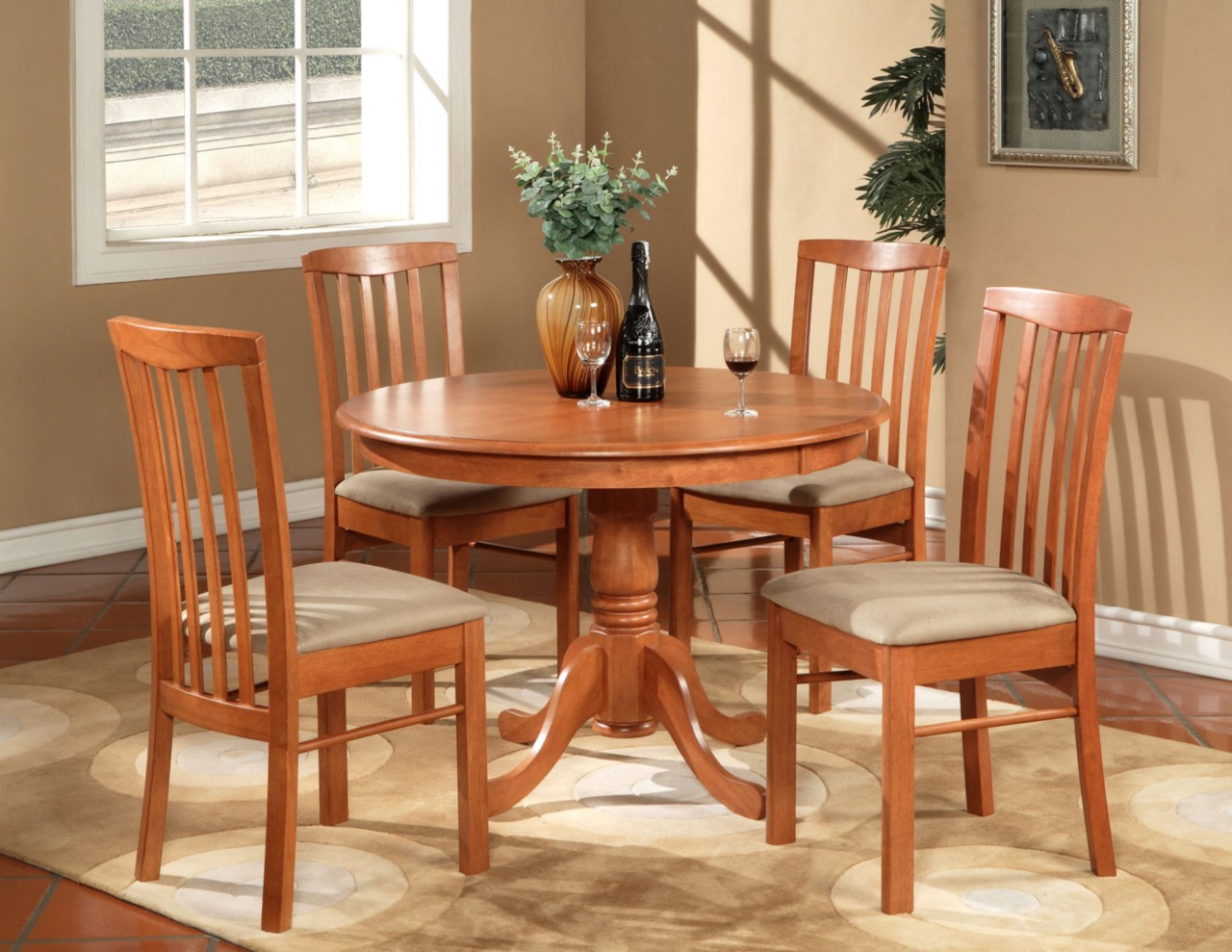 Round kitchen table sets Photo - 4