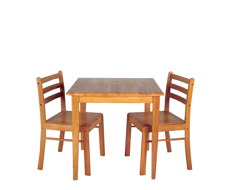 Small Kitchen Table And Chairs Set Saddle Brown Small