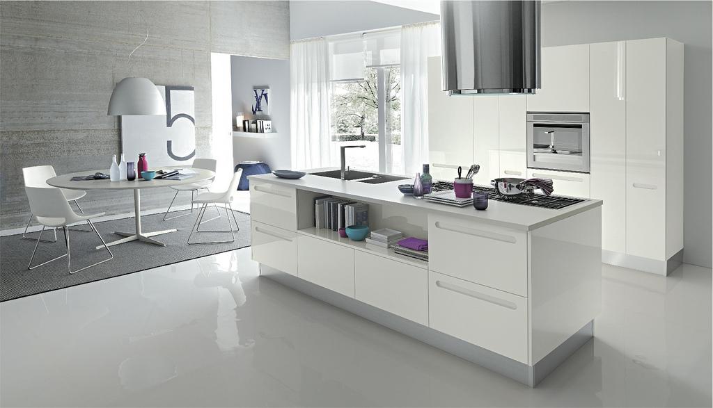 White kitchen chairs Photo - 5
