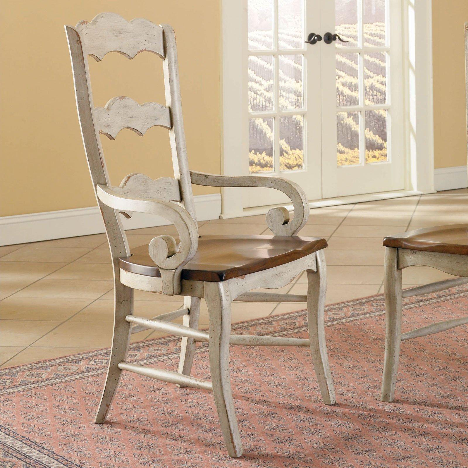 Antique white kitchen chairs Photo - 6