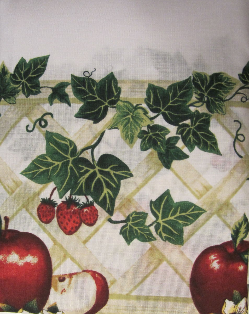 Apple curtains for kitchen | Kitchen ideas