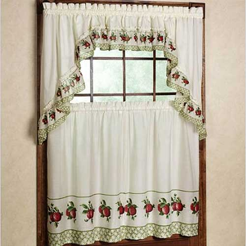 Apple kitchen curtains – Kitchen ideas