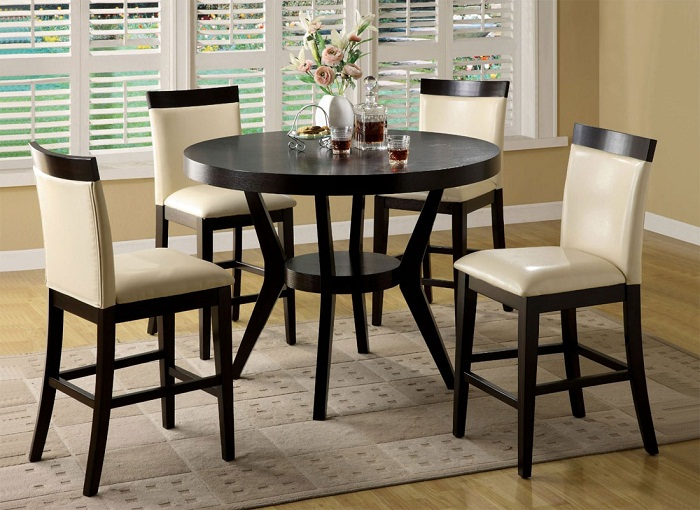 bar height kitchen table and chairs photo 9 - Counter Height Chairs