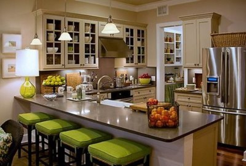 Bar stools for kitchen counter Photo - 4