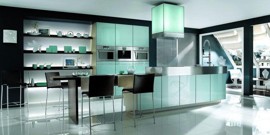 Black appliances in kitchen Photo - 8