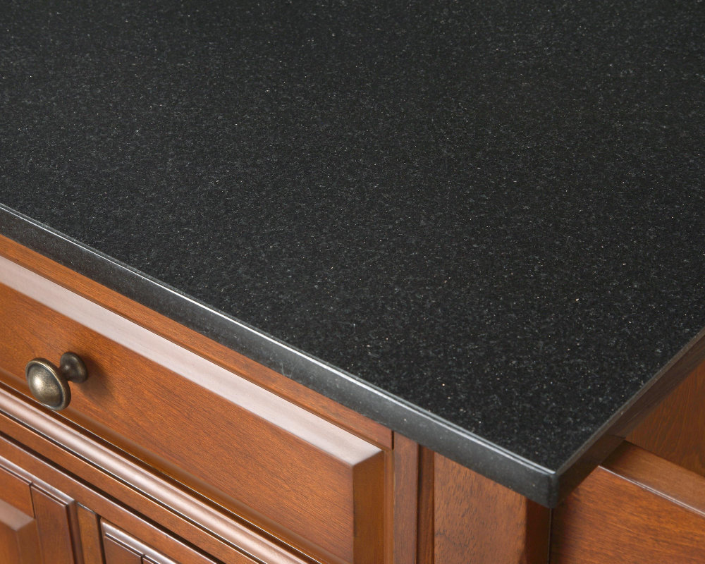 Granite Top Kitchen Islands Black Granite Kitchen Island Kitchen Ideas