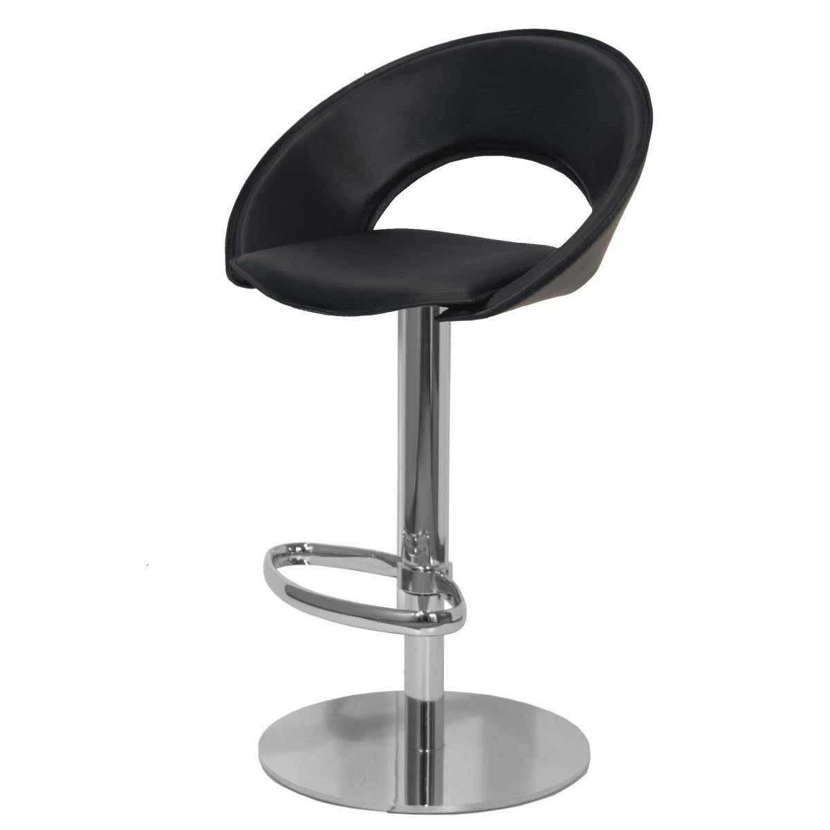 Black kitchen bar stools Photo - 9