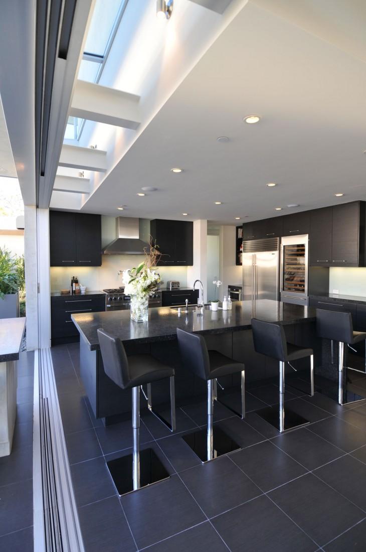 Black kitchen bar stools Photo - 11