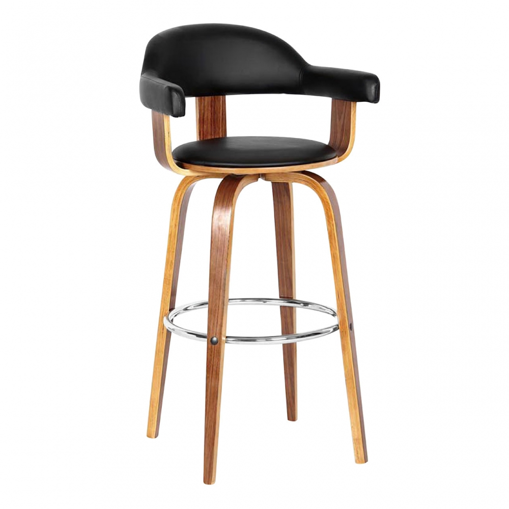 Black kitchen bar stools Photo - 12