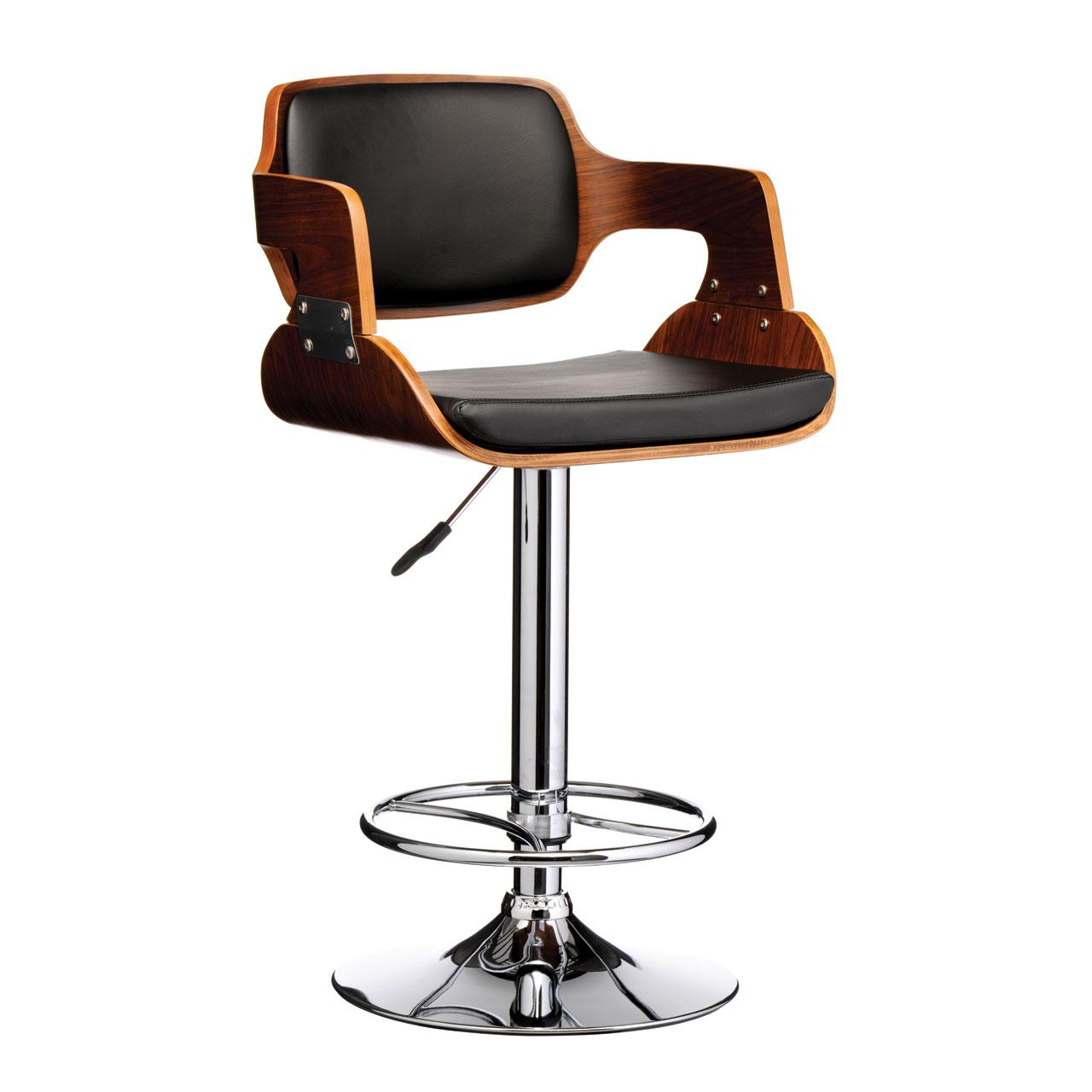 Black kitchen bar stools Photo - 4
