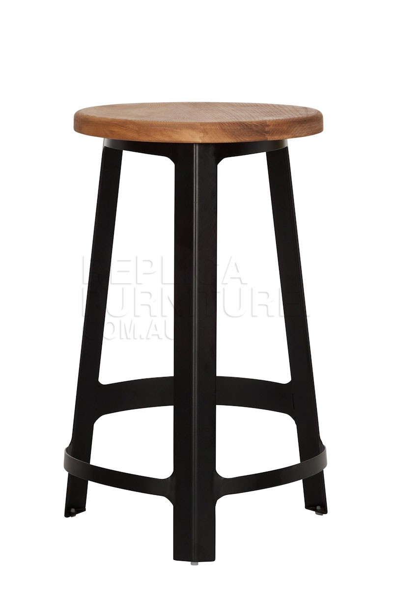 Black kitchen bar stools Photo - 5