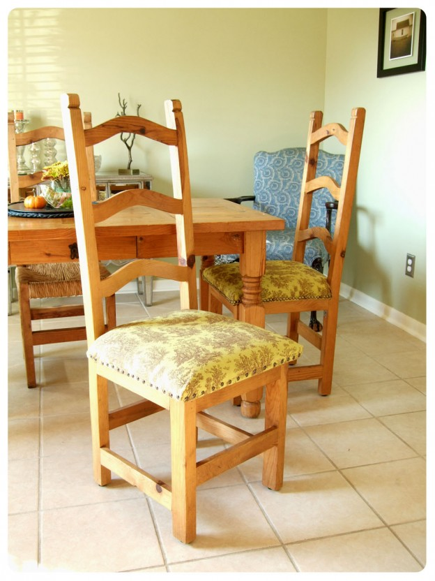 Black kitchen chair cushions Photo - 3