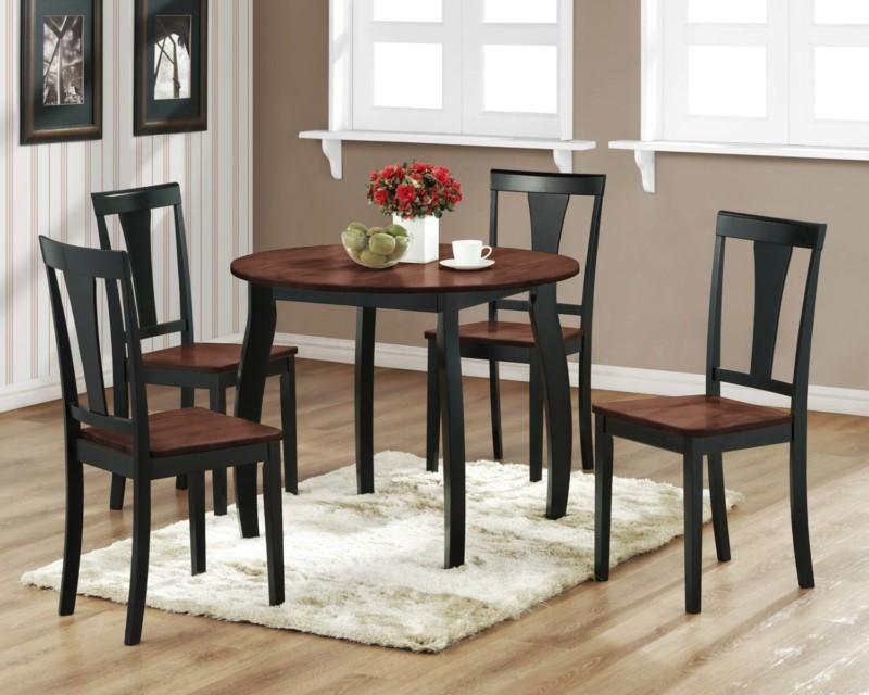 Black kitchen chairs Photo - 9