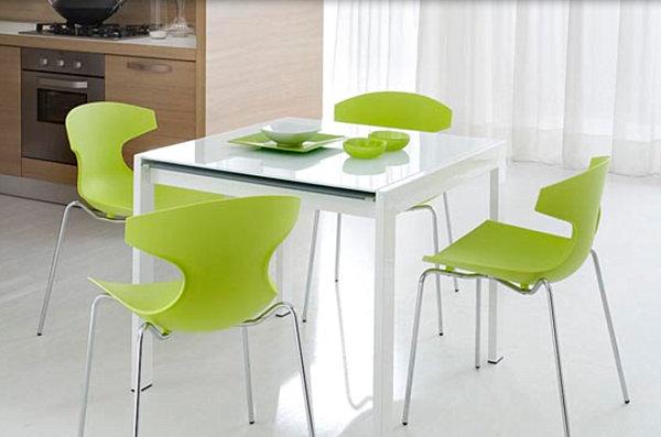 Black kitchen chairs Photo - 12
