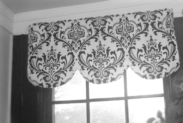 Black Kitchen Curtains And Valances Kitchen Ideas