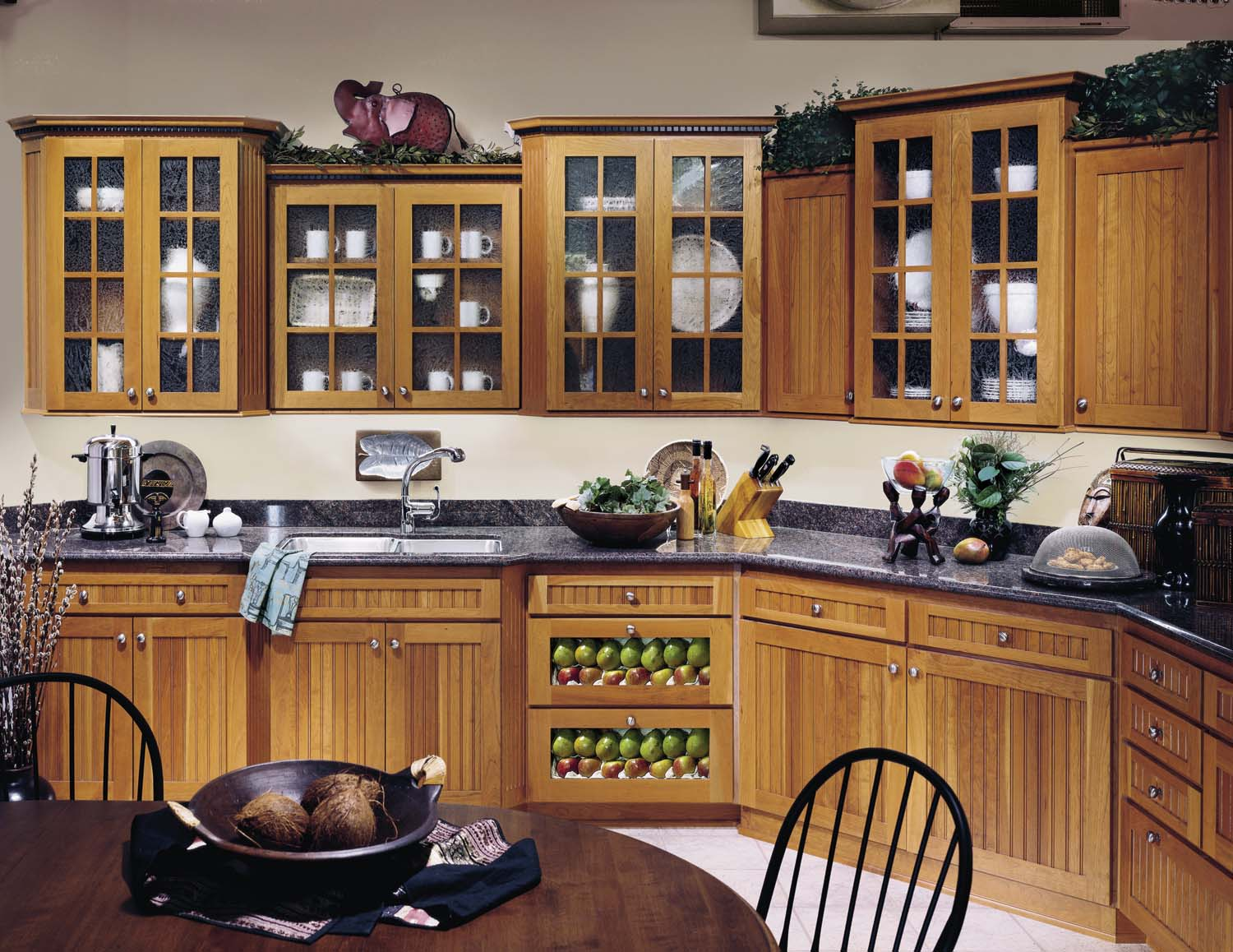 Black kitchen pantry cabinet Photo - 10