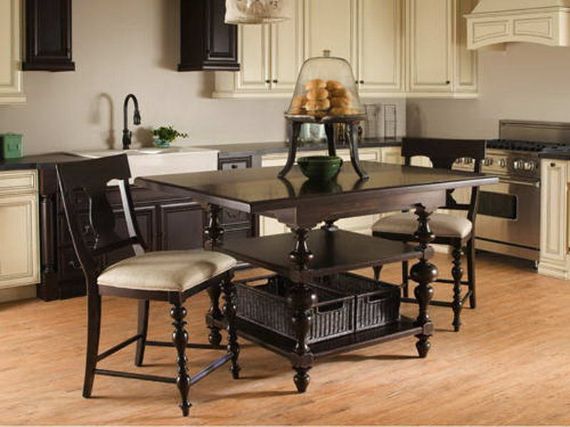 Black kitchen tables and chairs photo 9 kitchen ideas for Black kitchen table and chairs