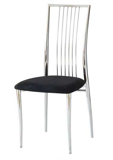 Black metal kitchen chairs Photo - 1