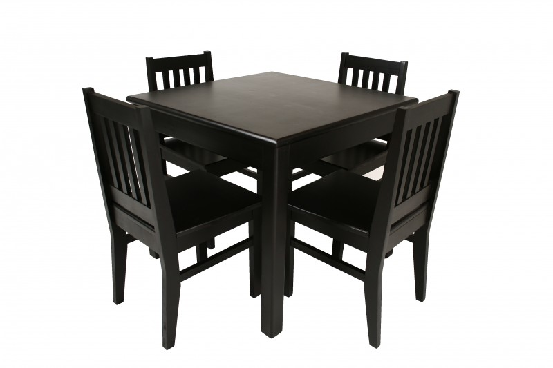 Black Square Kitchen Table Ideas
