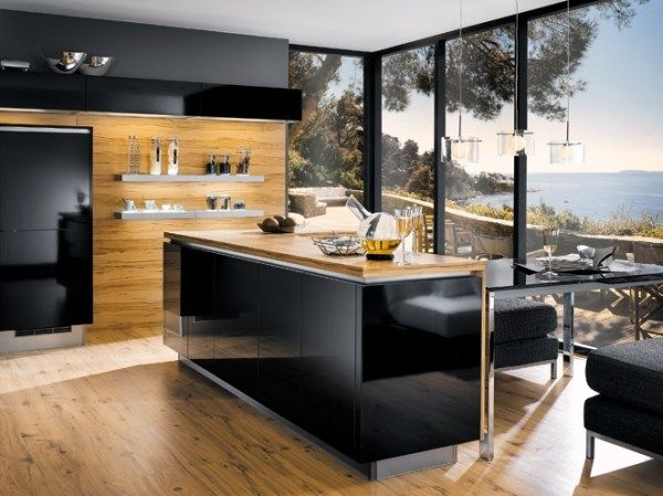 Black Wood Kitchen Table Ideas