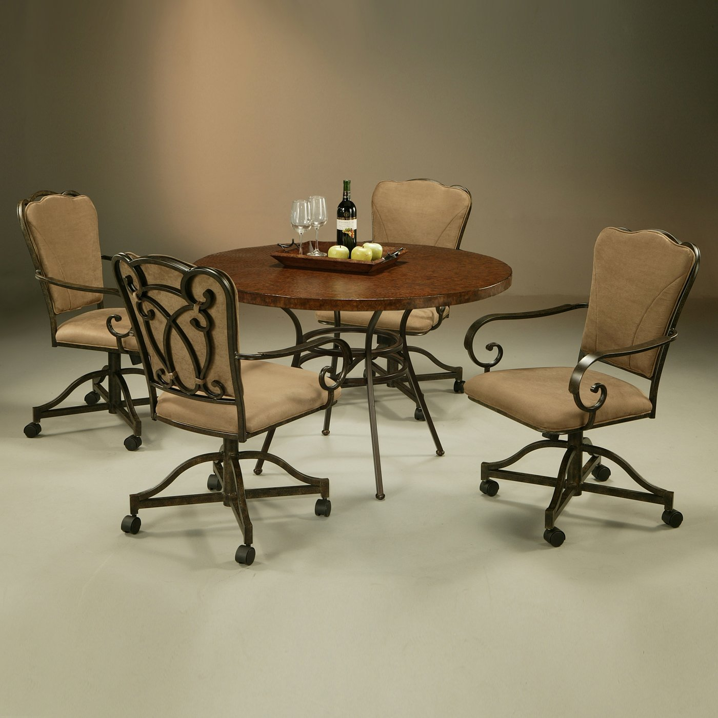 Black wooden kitchen chairs Photo - 8