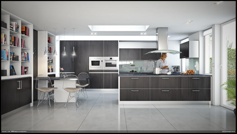 Blue kitchen appliances Photo - 9