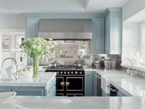 Blue kitchen appliances Photo - 8