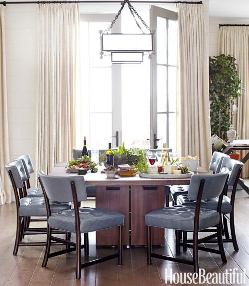 Blue kitchen chairs Photo - 7