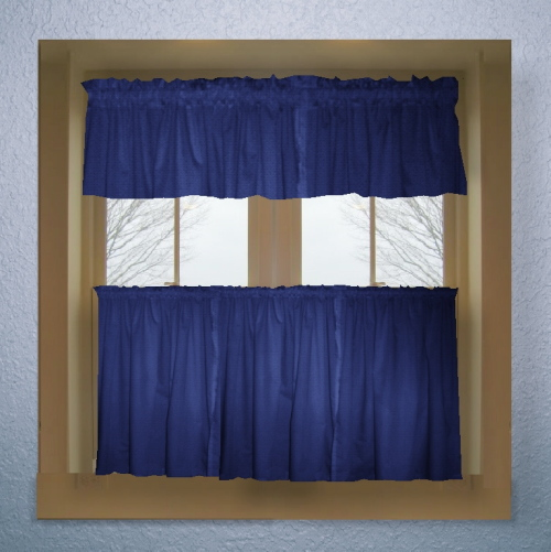 Exceptional ... Blue Kitchen Curtains Photo   12