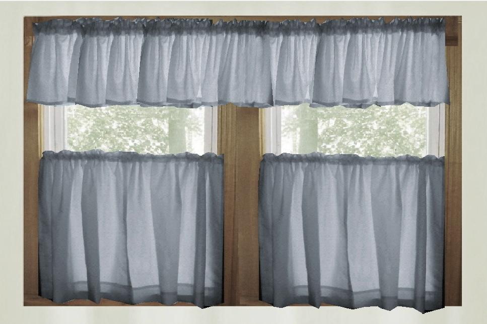 Blue Kitchen Curtains Photo U2013 7