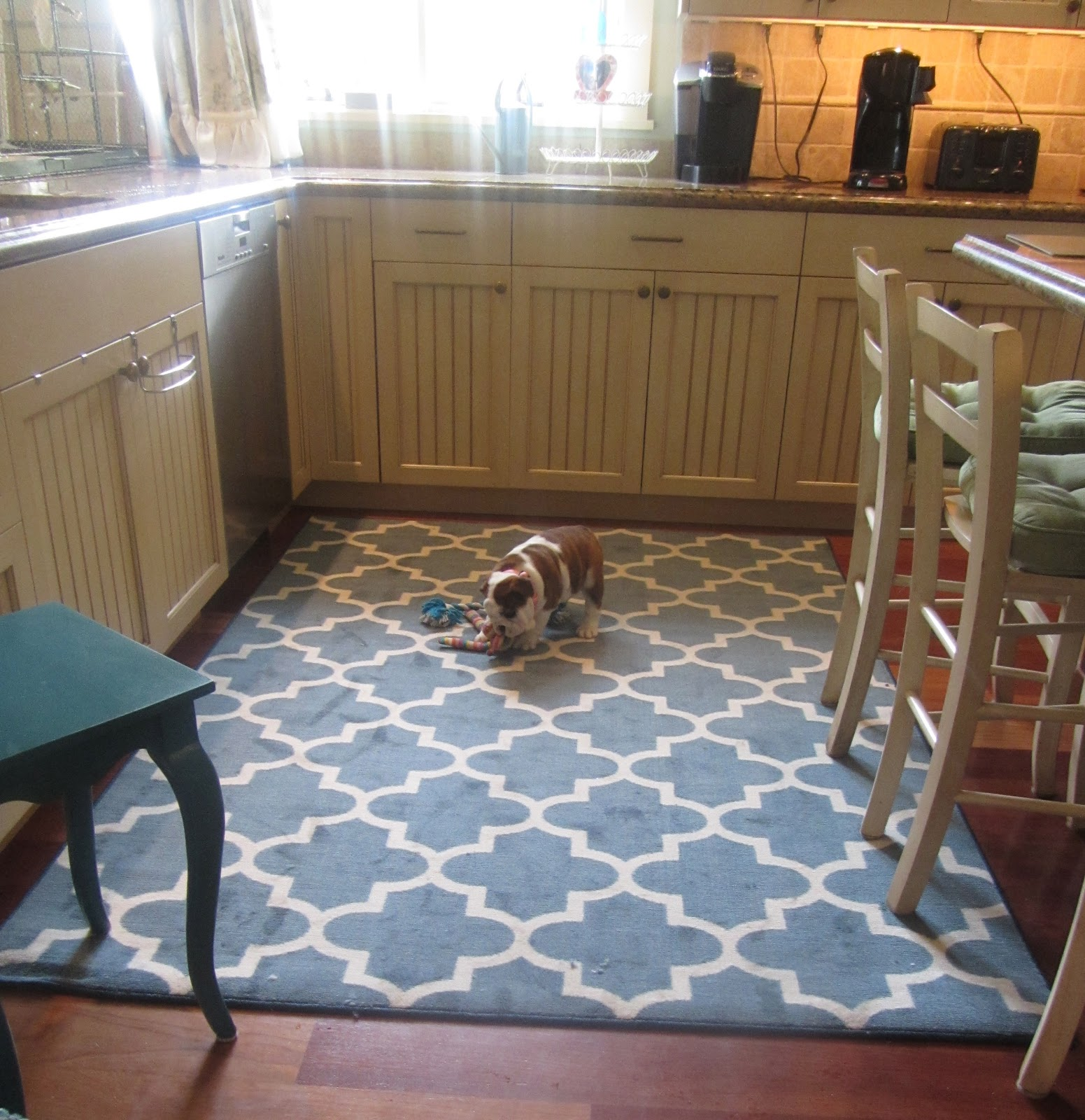 10 Photos To Blue Kitchen Rugs