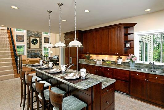 Breakfast bar kitchen island Photo - 4 | Kitchen ideas